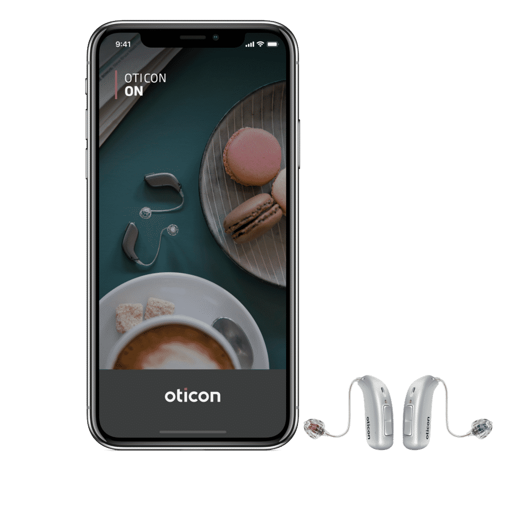 Oticon More hearing aid with Bluetooth technology
